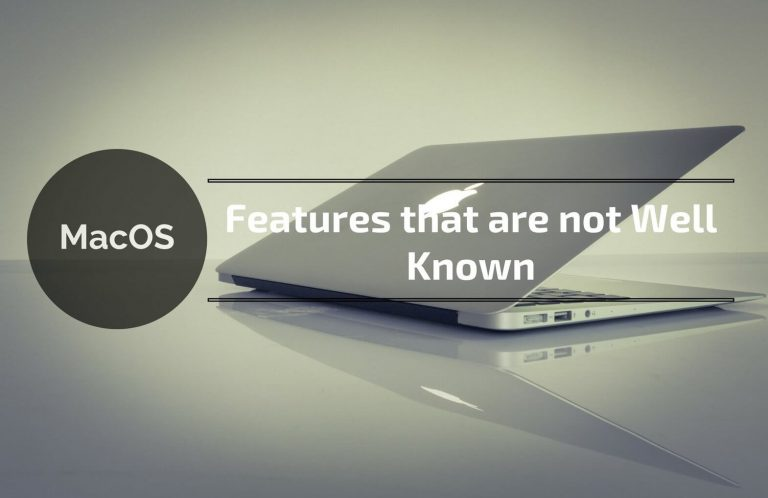macos features