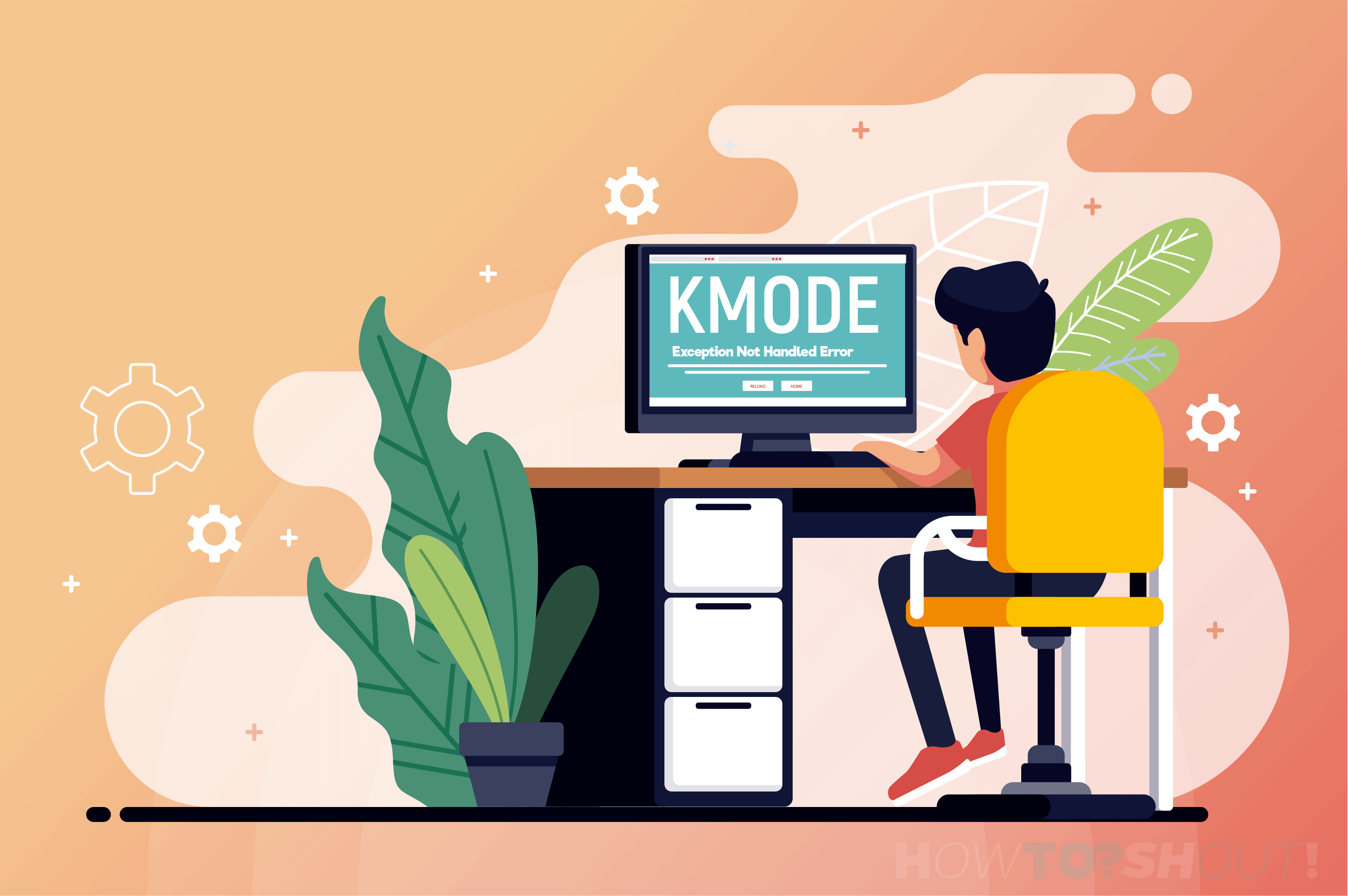 KMode Exception Not Handled Error